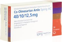 Immagine del prodotto Co-olmesartan Amlo Spirig HC 40/10/12.5mg 30 Stück