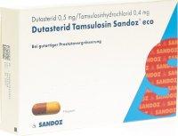 Immagine del prodotto Dutasterid Tamsulosin Sandoz Eco 0.5/0.4mg 9 Stück