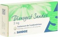 Immagine del prodotto Dienogest Sandoz Tabletten 2mg 3x 28 Stück