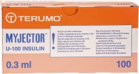 Terumo Myjector U-100 Insulin-Spritzen 29g 12x0.33mm 100x 0.3ml