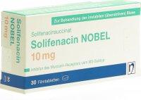 Immagine del prodotto Solifenacin Nobel Filmtabletten 10mg 30 Stück