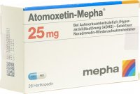 Immagine del prodotto Atomoxetin Mepha Kapseln 25mg 28 Stück