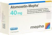 Immagine del prodotto Atomoxetin Mepha Kapseln 40mg 7 Stück