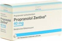 Immagine del prodotto Propranolol Zentiva Filmtabletten 40mg Dose 180 Stück