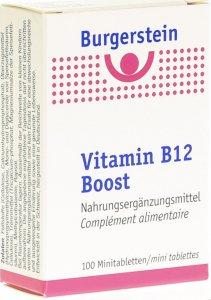 Immagine del prodotto Burgerstein Vitamin B12 Boost Mini Tablets 100 Capsule