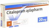 Immagine del prodotto Citalopram Axapharm Filmtabletten 20mg 14 Stück