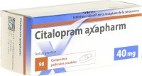 Immagine del prodotto Citalopram Axapharm Filmtabletten 40mg 98 Stück