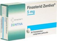 Immagine del prodotto Finasterid Zentiva Filmtabletten 5mg 30 Stück