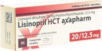 Immagine del prodotto Lisinopril HCT Axapharm Tabletten 20/12.5mg 30 Stück