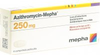 Immagine del prodotto Azithromycin Mepha Filmtabletten 250mg 4 Stück