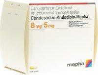 Immagine del prodotto Candesartan-amlodip Mepha Kapseln 8mg/5mg 98 Stück