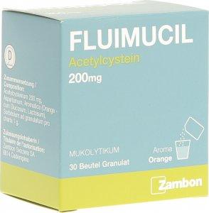 Immagine del prodotto Fluimucil Granulat 200mg Erwachsene Beutel 30 Stück