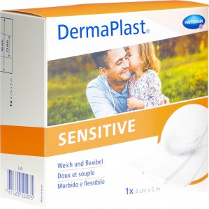 Product picture of Dermaplast Sensitive Quick Bandage Whitze 4cmx5m Roll