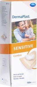 Product picture of Dermaplast Sensitive Centro Strip 4x6cm Skin-Coloured 100 Pieces