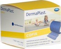 Product picture of Dermaplast Cofix Gauze Bandage 4cmx4m Blue
