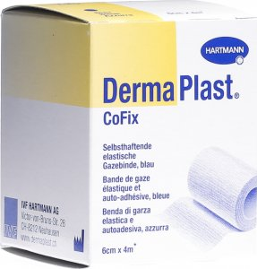 Product picture of Dermaplast Cofix Gauze Bandage 6cmx4m Blue