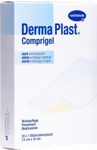 Product picture of Dermaplast Comprigel Wound Dressings Sterile 7.5x10cm 10 Bags