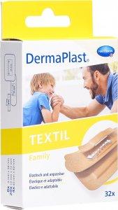 Product picture of Dermaplast Textil Family Strip 3 Sizes 32 Pieces