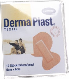 Product picture of Dermaplast Textil Fingertip Plasters 12 Pieces
