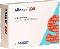 Allopur Tabletten 300mg 30 Stück