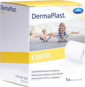 Product picture of Dermaplast Cofix gauze bandage 6cmx4m white