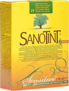 Product picture of Sanotin Sanotint Sensitive Light Hair Color 77 middle blonde