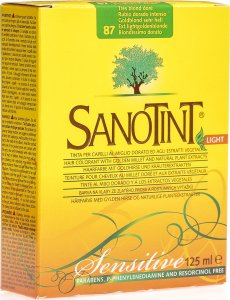 Product picture of Sanotint Sensitive Light Hair Color 87 Honey Blonde Extra Light