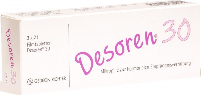 Desoren-30 3x21 Tabletten in der Adler Apotheke