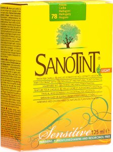 Product picture of Sanotint Sensitive Light Hair Color 78 Mahogany Dark