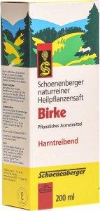 Product picture of Schönenberger Birch juice 200ml