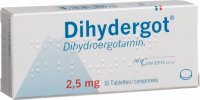 Dihydergot Tabletten 2.5mg 30 Stück