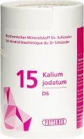 Image du produit Phytomed Schüssler Nr. 15 Kal Jod Tabletten D 6 100g