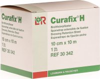 Curafix H Fixierpflaster Weiss 10mx10cm Rolle