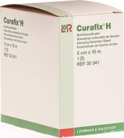 Curafix H Fixierpflaster Weiss 10mx5cm Rolle