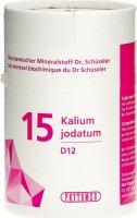 Image du produit Phytomed Schüssler Nr. 15 Kal Jod Tabletten D 12 100g