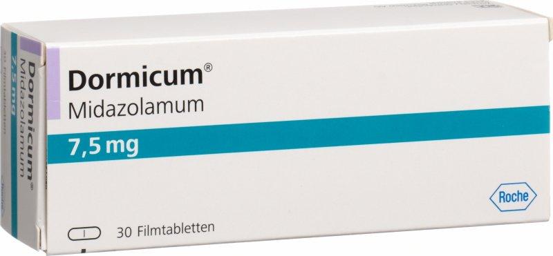 Dormicum 15 mg online