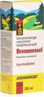Image du produit Schönenberger Brennessel Saft 200ml