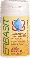 Product picture of Erbasit basische Mineralsalz-Tabletten mit Kräutern Dose 128 Stück