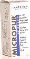 Image du produit Micropur Antichlor Ma 100f Liquid Flasche 10ml