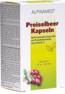 Product picture of Alpinamed Cowberry 120 capsules