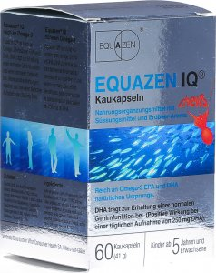 Product picture of Equazen IQ Strawberry chewing capsules 60 pieces