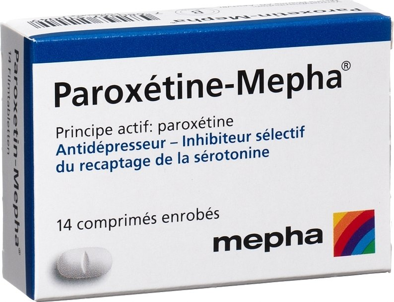 paroxetin mepha filmtabletten 20mg 14 st ck in der adler apotheke. Black Bedroom Furniture Sets. Home Design Ideas