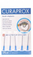 Product picture of Curaprox CPS 22 Implant Brushes Blue 5 pieces