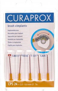 Product picture of Curaprox CPS 24 Implant Brushes Orange 5 pieces