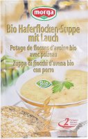 Image du produit Morga Haferflocken Suppe mit Lauch Bio 45g