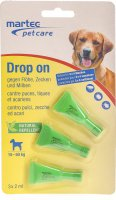 Martec Pet Care Drop On für Hunde 16kg+ 3x 2ml