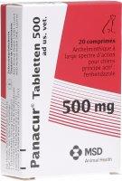 Image du produit Panacur Tabletten 500mg Ad Us Vet. 2x 10 Stück
