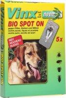 Product picture of Vinx Bio Spot On Tropfen mit Neem Hund 5x 1ml