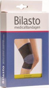 Product picture of Bilasto Knee bandage size XL Black/ Blue