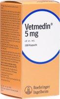 Image du produit Vetmedin Kapseln 5mg Ad Us Vet. 100 Stück